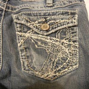 Silver Burkley Surplus Bootcut Jeans 30W 33L